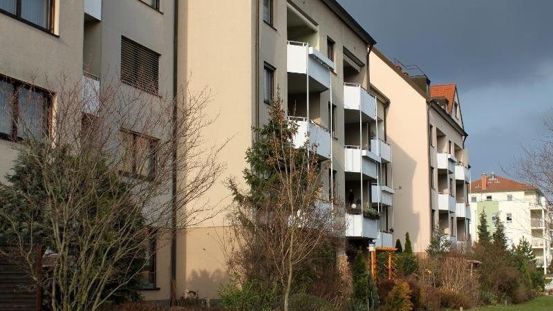 Die Wohnungen verfügen über Balkone