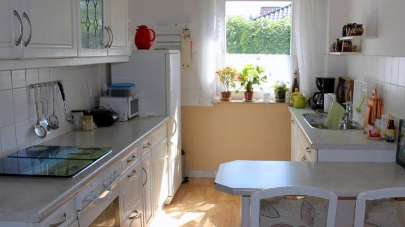 Die Ausstattung der Wohnung entspricht dem heutigen Zeitgeschmack.
