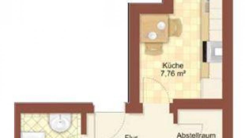 29_nachhause-immobilien_5c3882b8dbcb9eca243e3a31bf36d68ecaccd713 Nach Hause Immobilien - Single-Bude ... Schickes 1-Zimmer-Apartment mit Balkon zum Sofort-Bezug