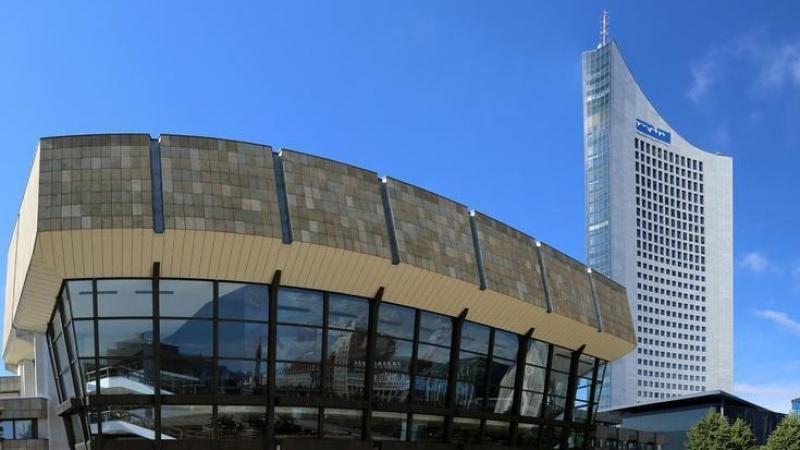 ... das Konzertgebäude Gewandhaus zu Leipzig,