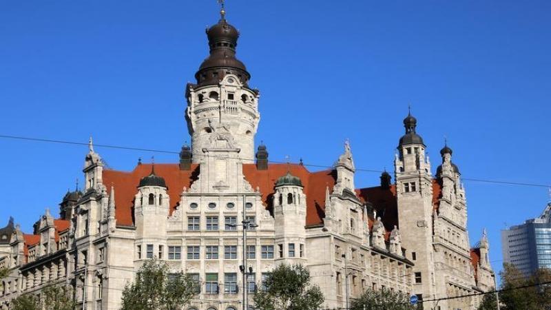 das Neue Rathaus, einer der bedeutendsten deutschen Rathausbauten,