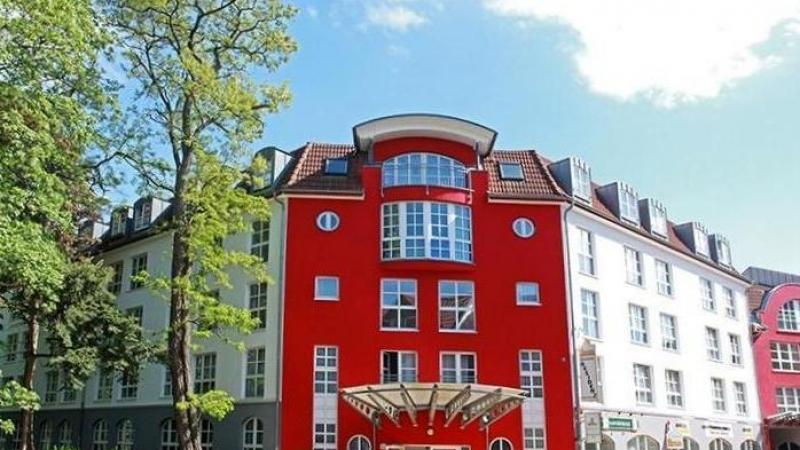 """Die Wohnanlage """"Altes Ratsgut"""", liegt mitten im Zentrum von Markranstädt."""