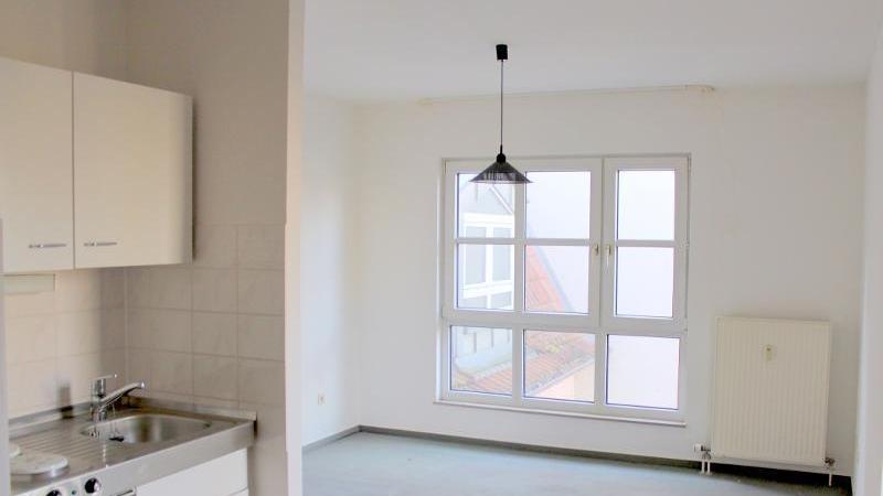 Alle Appartments sind mit einer Singleküche ausgestattet.