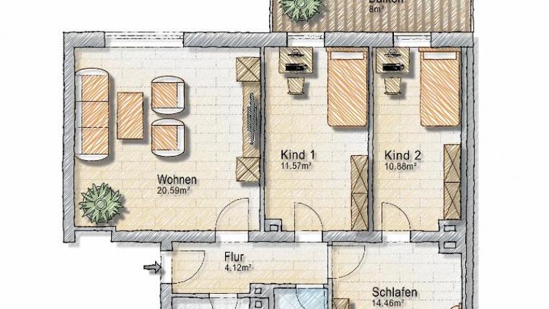 10_nachhause-immobilien_1b9a7b86601bf0c06a60d8ba6d78d527296b6b61 Nach Hause Immobilien - Liebenswerte Kleinstadt ... Tolle Wohnung mit großem Süd-Balkon und Stellplatz
