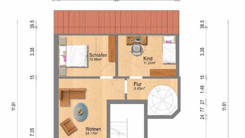 Maisonette Haus Nr. 13 a