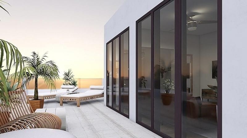 ... Penthouse mit Seeblick am Kap Zwenkau.