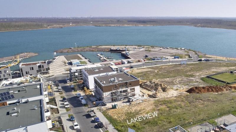 Luftaufnahme Neubauprojekt LAKEVIEW