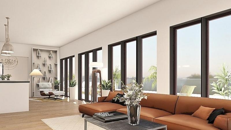 Angeboten wird eine beeindruckende Dachgeschosswohnung