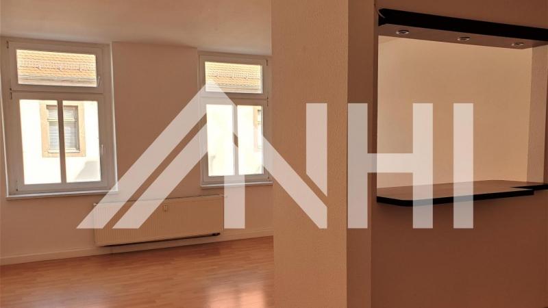 Vermietet werden können ine 1,5-Raum-Wohnung,