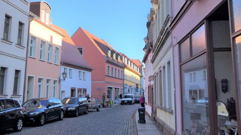 mitten im Stadtzentrum von Grimma.